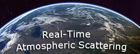 Real-Time Atmospheric Scattering